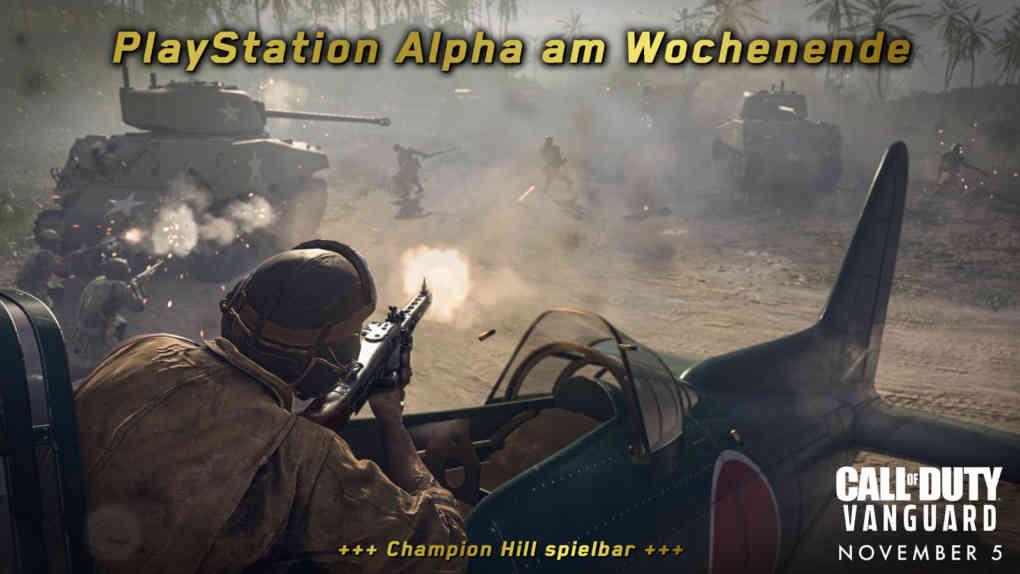 cod vanguard champion hill playstation alpha