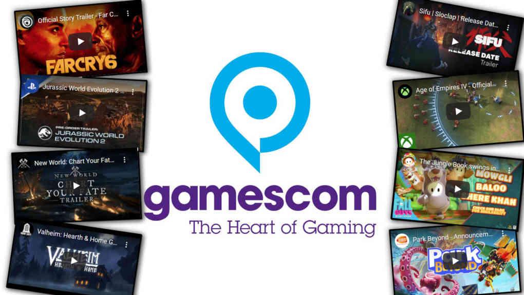 gamescom 2021 opening night live trailer sammlung