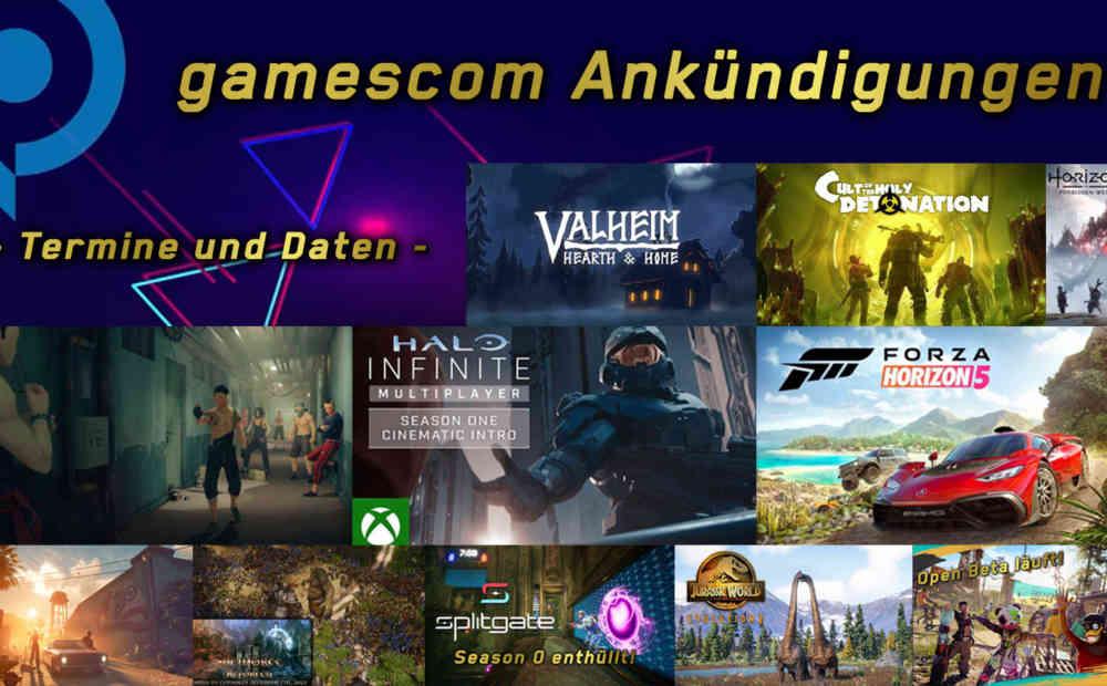 gamescom Releasetermine