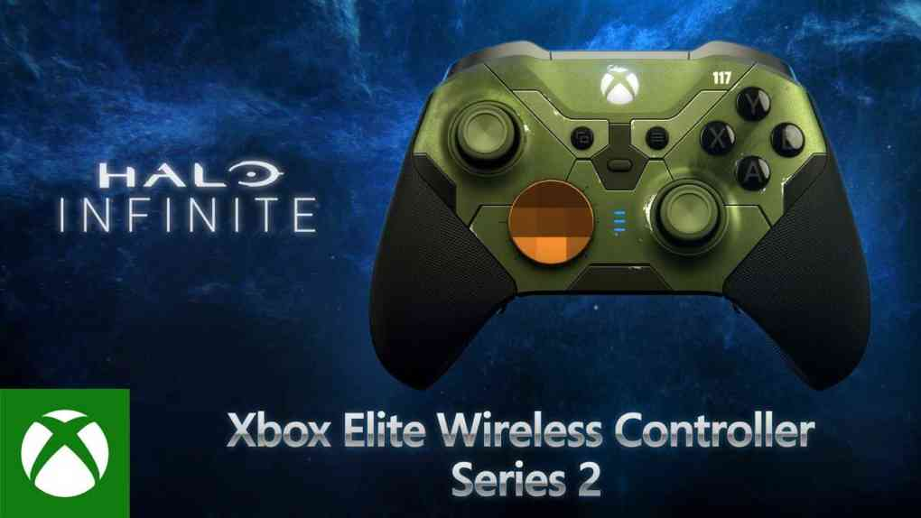 halo infinite xbox elite wireless controller