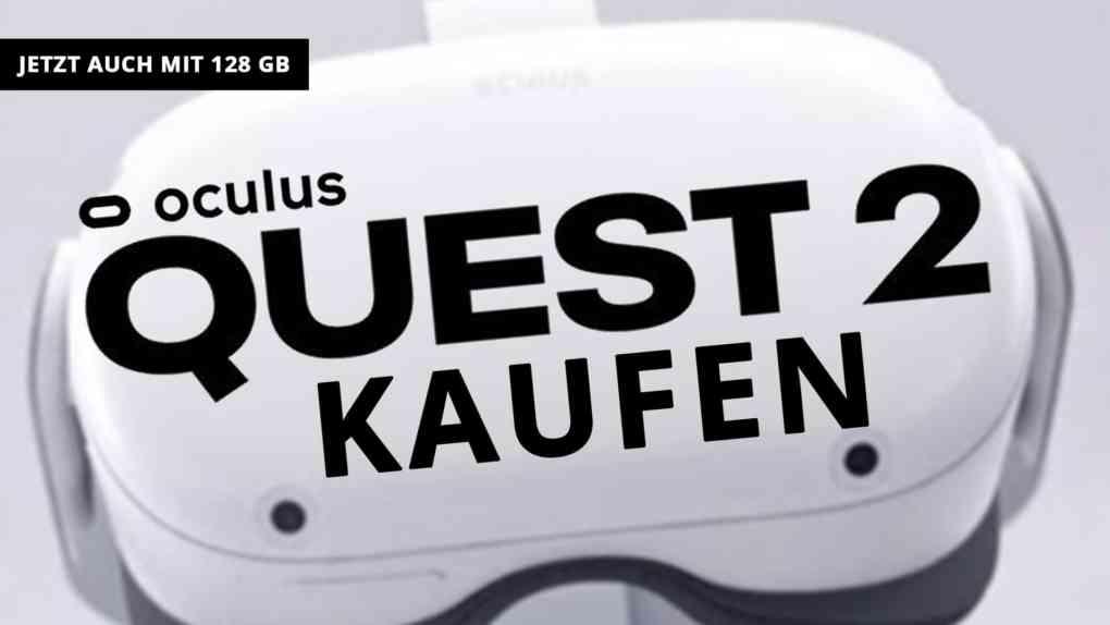 oculus quest 2 128gb kaufen