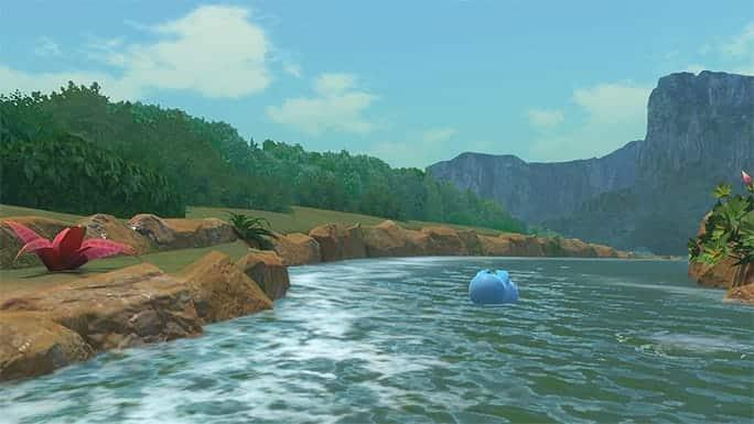 pokemon snap update grosser fluss