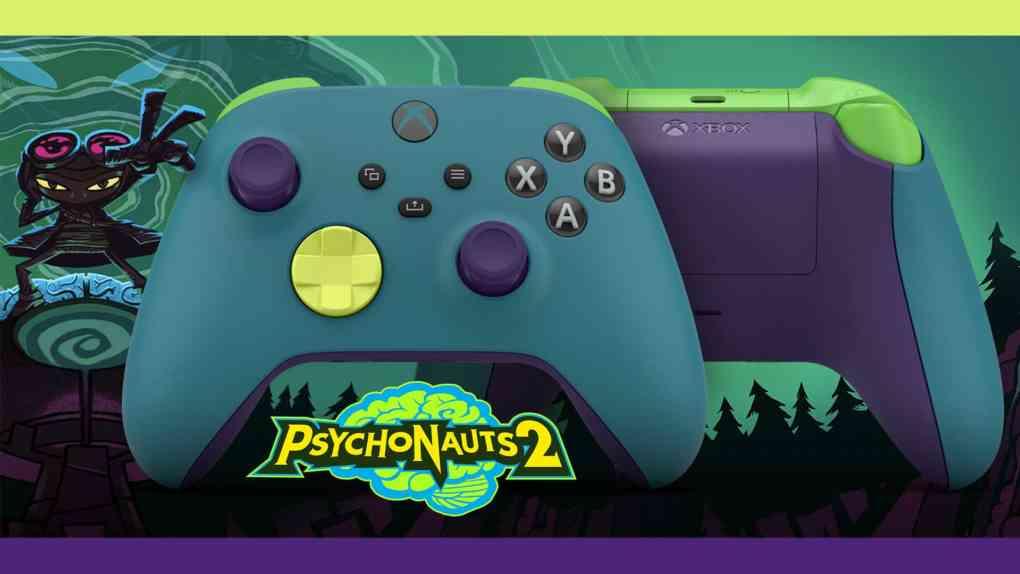 psychonauts 2 xbox controller