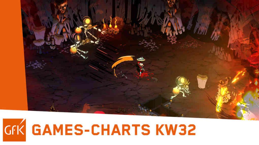 top 2 game charts deutschland kw32 2021 hades