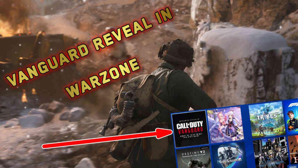 vanguard reveal leak warzone