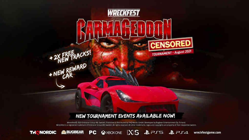 wreckfest carmageddon event