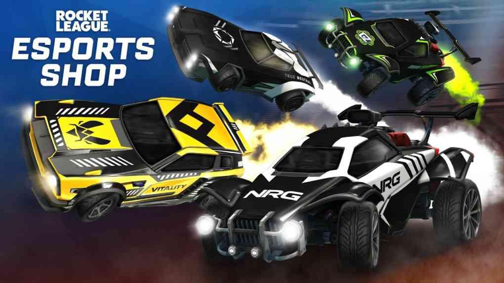 Rocket League Esports Shop Trailer