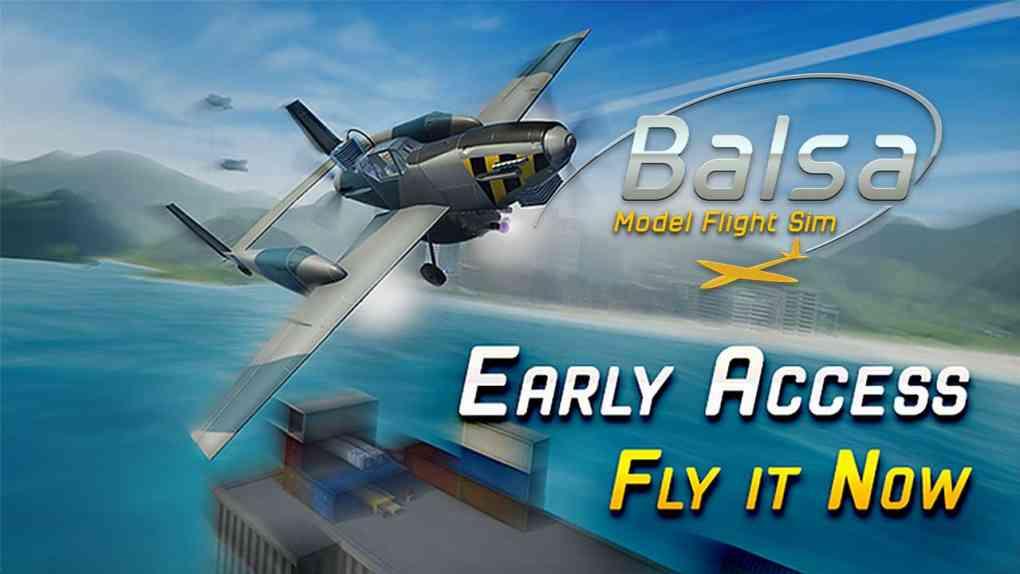 balsa model flight simulator early access
