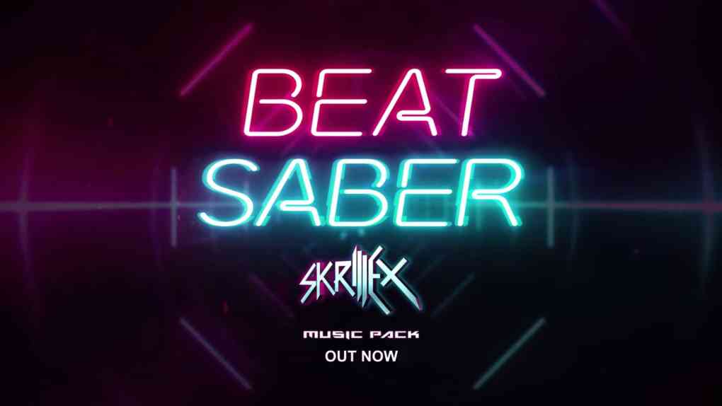beat saber skrillex music pack