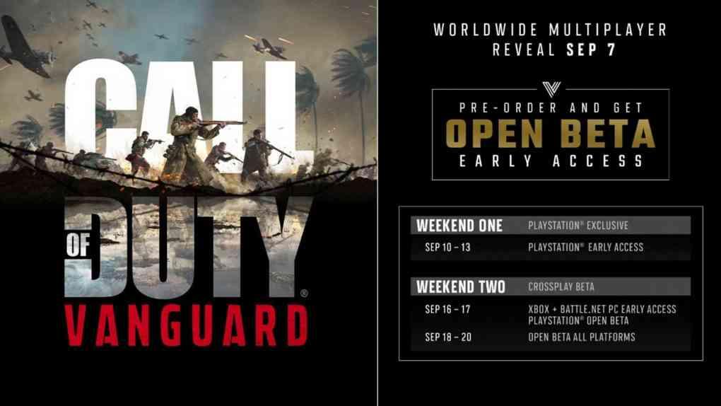 call of duty vanguard beta