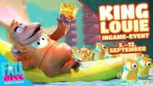 fall guys dschungelbuch King Louie