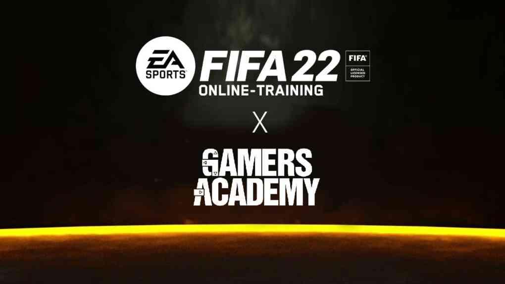 fifa22 training gamers academy