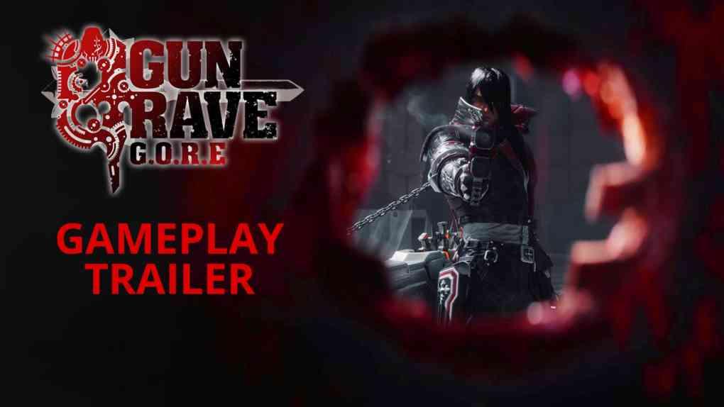 gungrave gore gameplay trailer