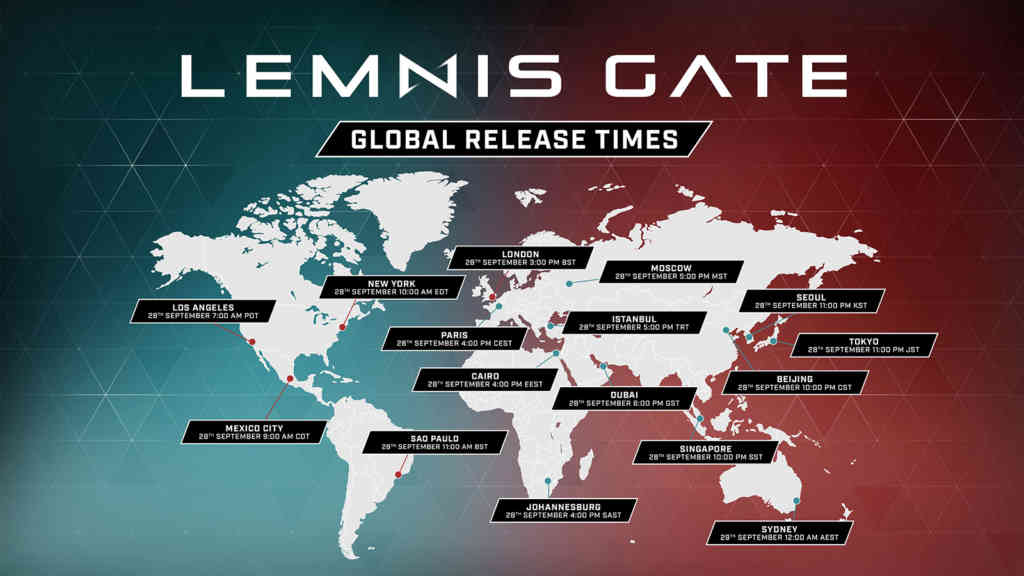 lemnis gate global release time map