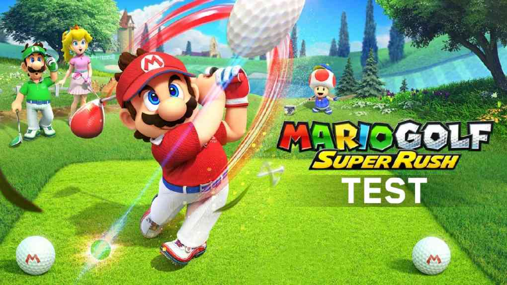 mario golf super rush test