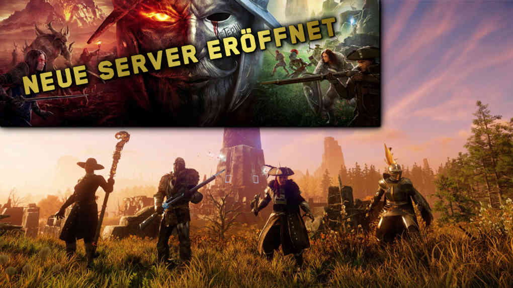 new world neue server