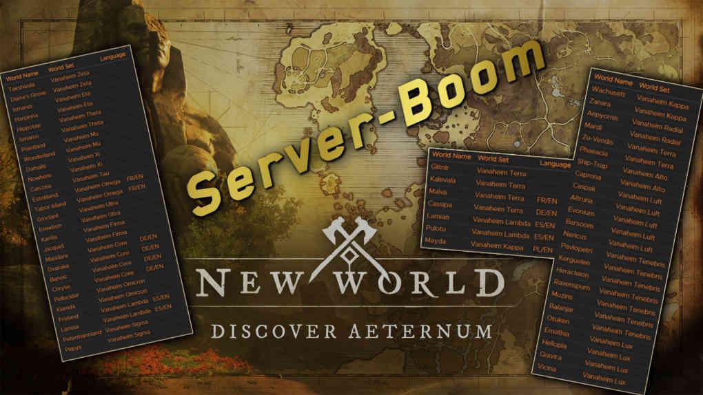new world server boom EU