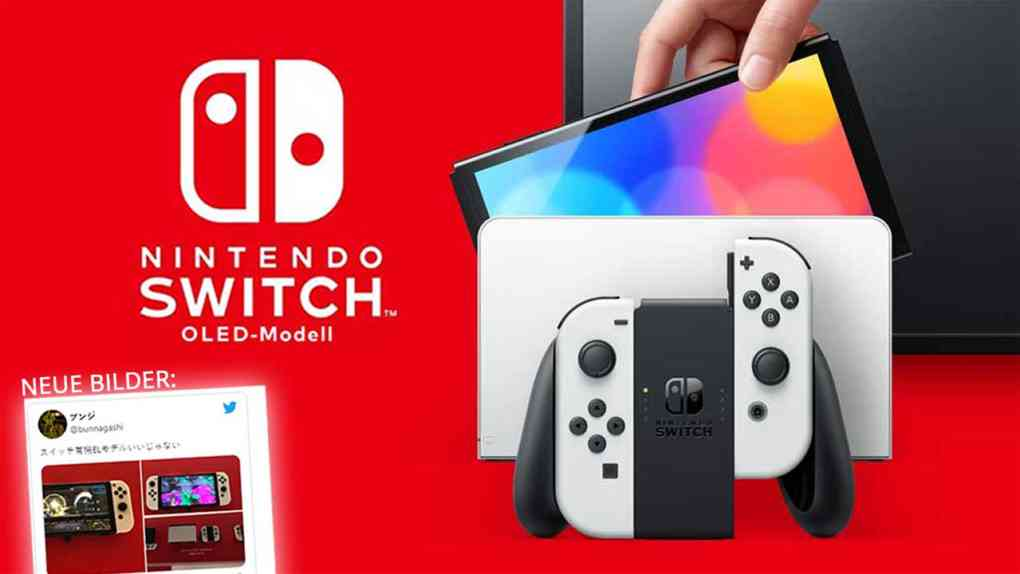 nintendo switch oled modell new pictures