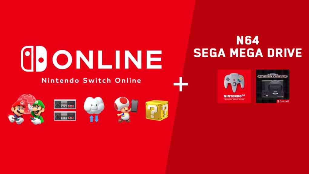 nintendo switch online n64 sega mega drive
