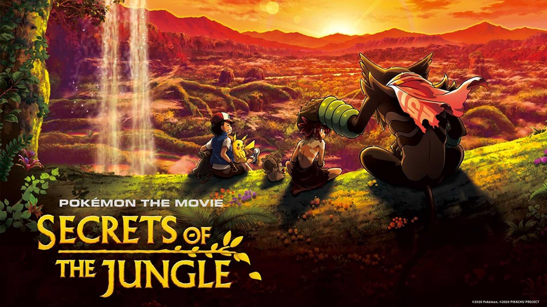 pokemon film secrets of the jungle