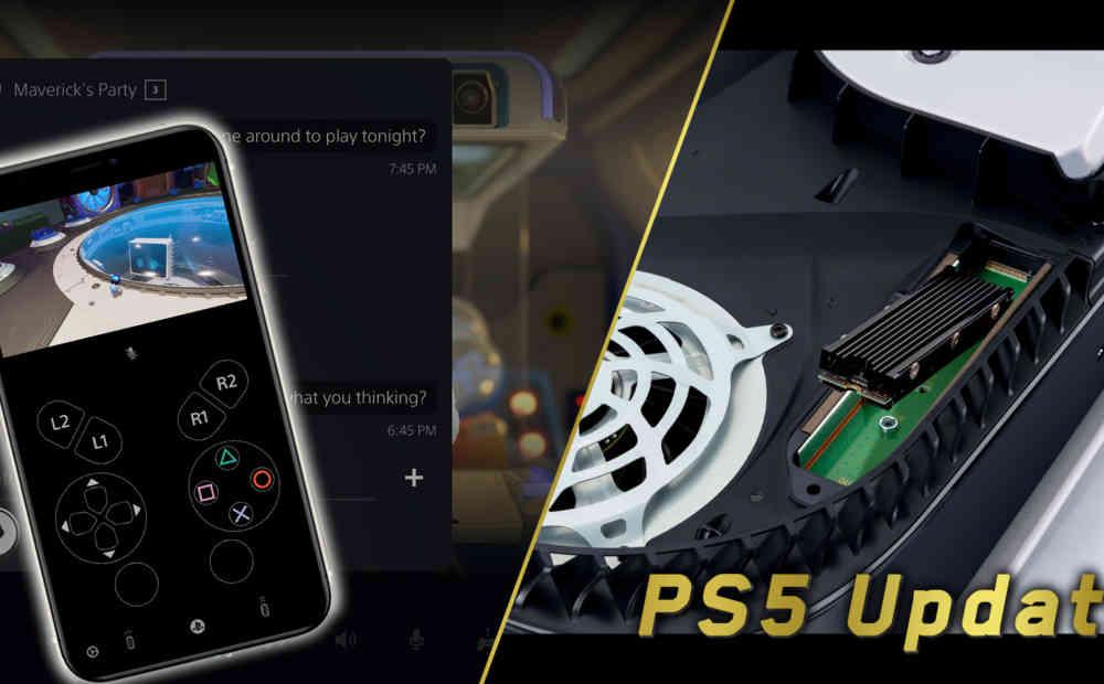 ps5 software update september 2021