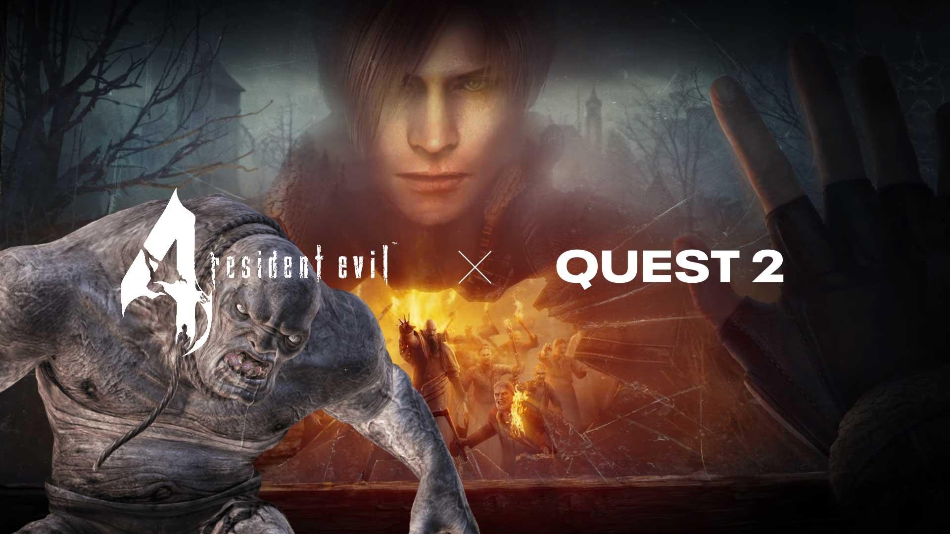 resident evil 4 vr oculus quest