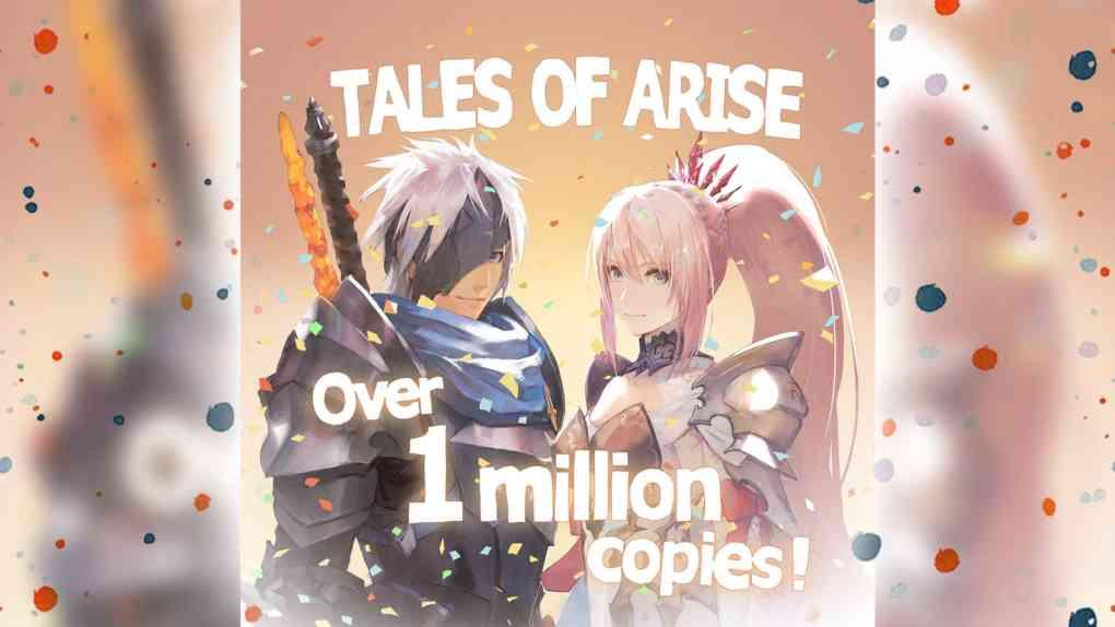 tales of arise 1 million copies