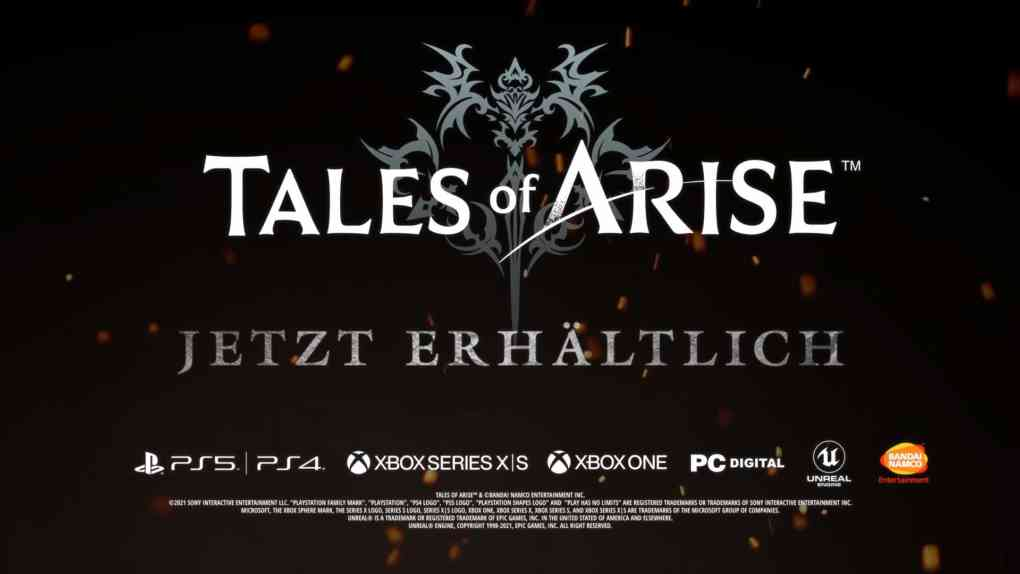 tales of arise release