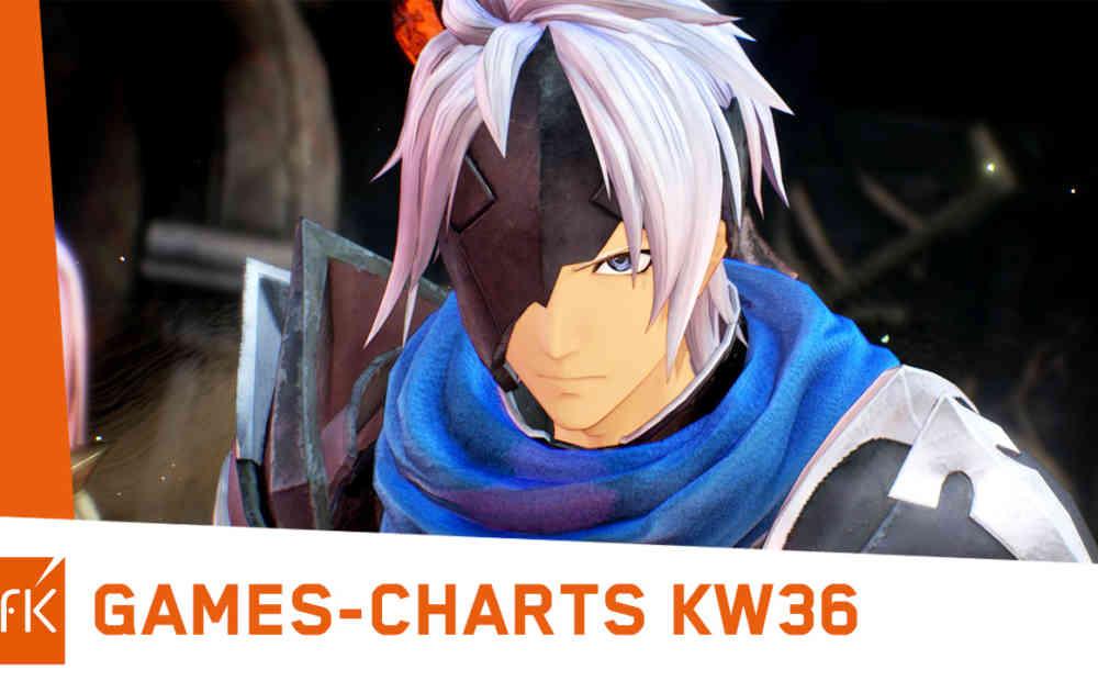 top 2 game charts deutschland kw36 2021 tales of arise