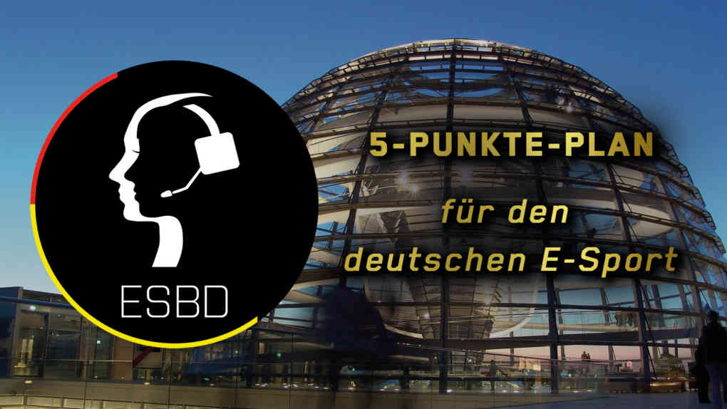 ESBD E Sport 5 Punkte Plan Ampel 2021 v2