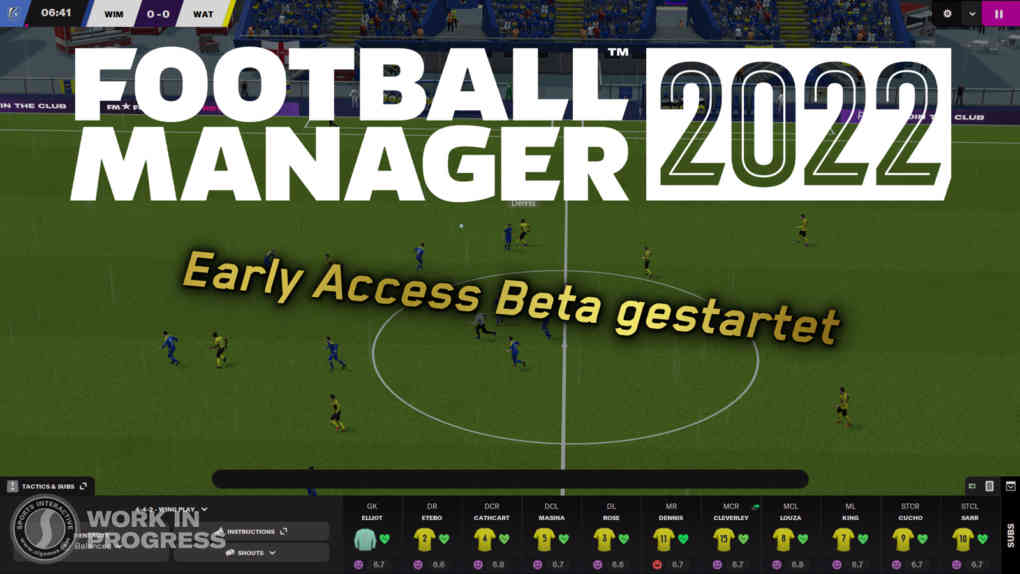 FM22 early access beta