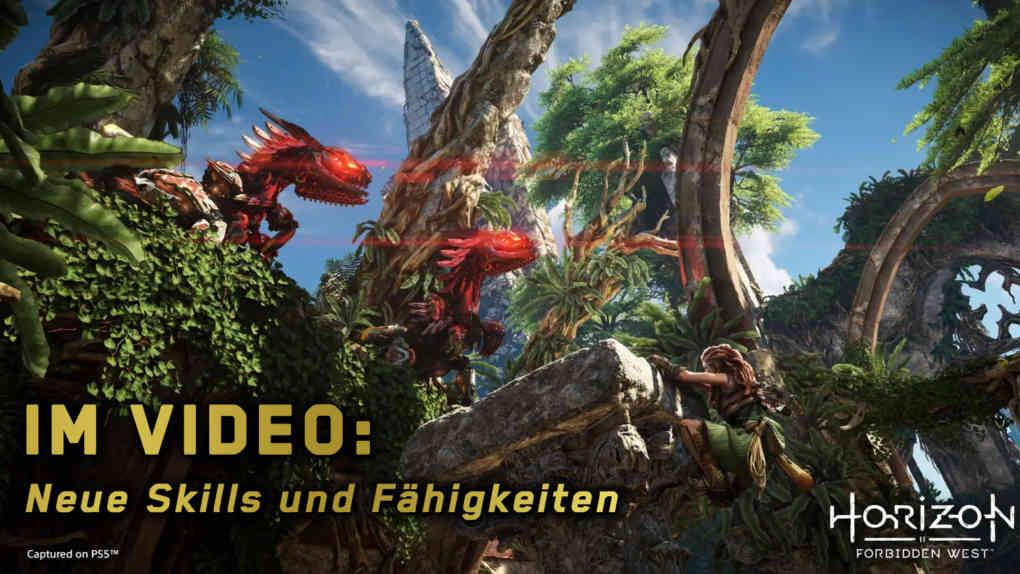 Horizon Forbidden West new skills and abilities