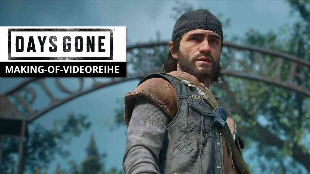 days gone making of