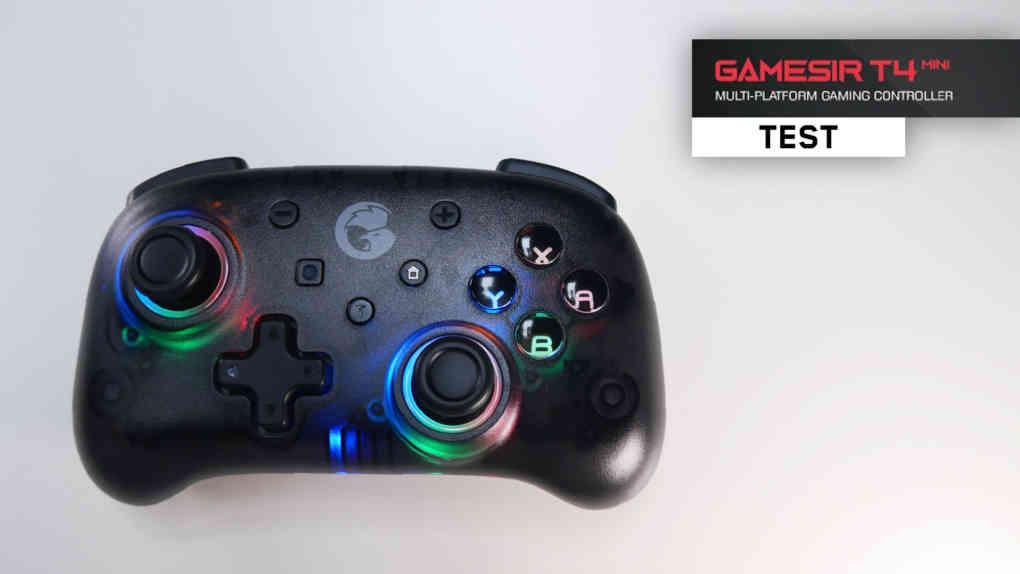 gamesir t4 mini test