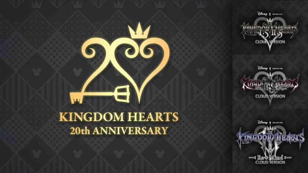 kingdom hearts 20th anniversary switch cloud versions