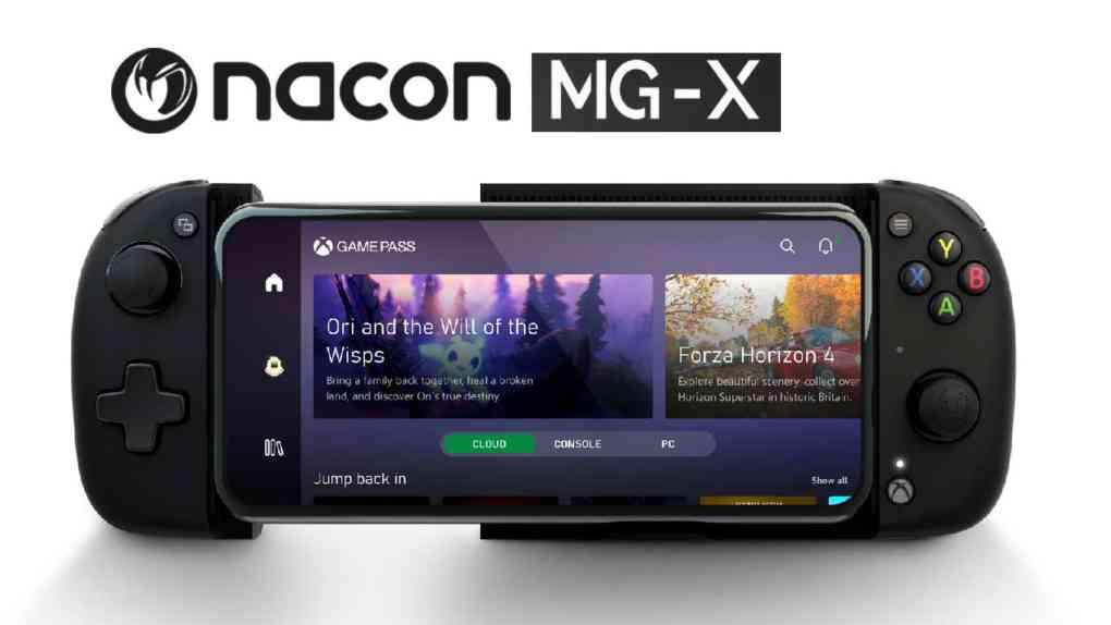 nacon mg x controller release
