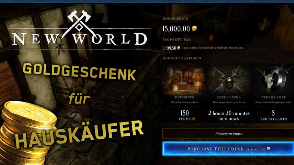 new world gold fuer hausbesitzer