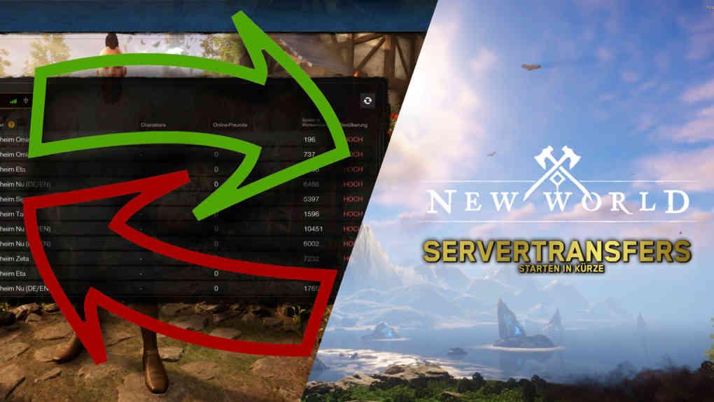 new world servertransfers
