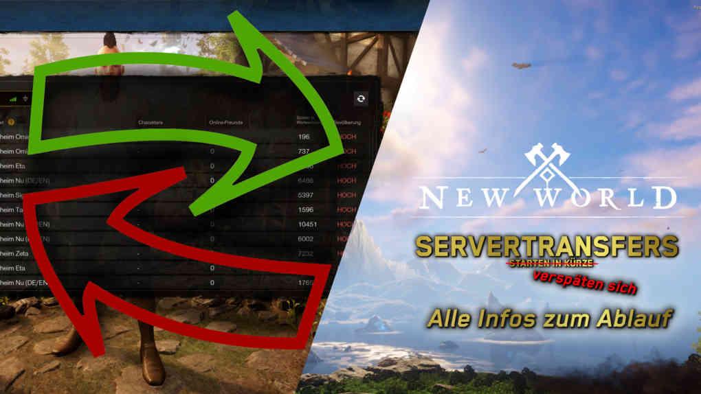 new world servertransfers delay