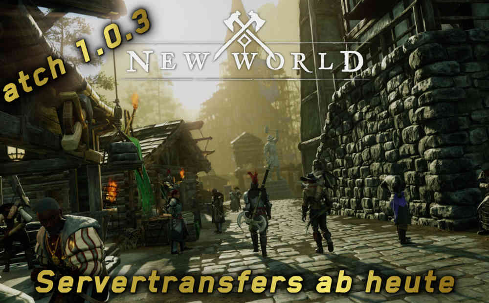 new world servertransfers launch