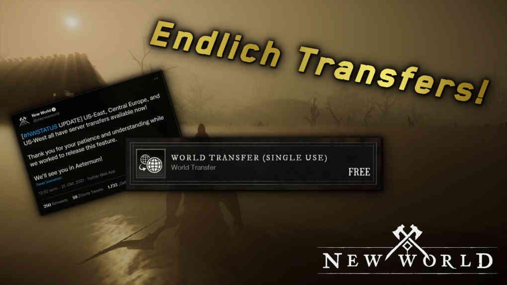 new world transfers live