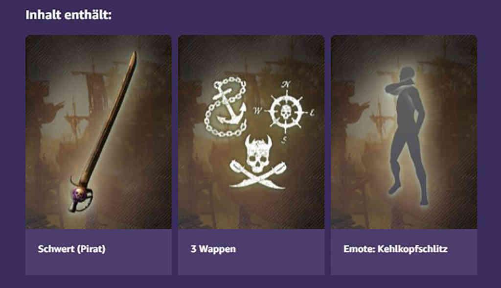 new world twitch piraten pack 2 inhalt
