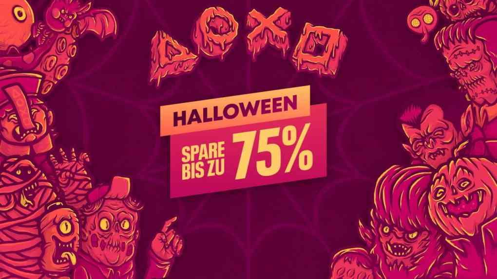 playstation rabatte halloween 2021
