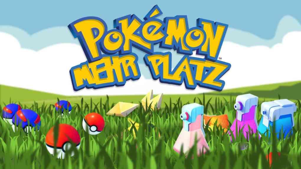 pokemon go mehr platz