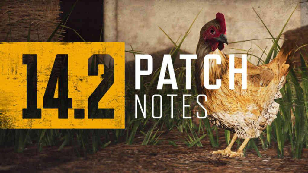 pubg patch 14.2