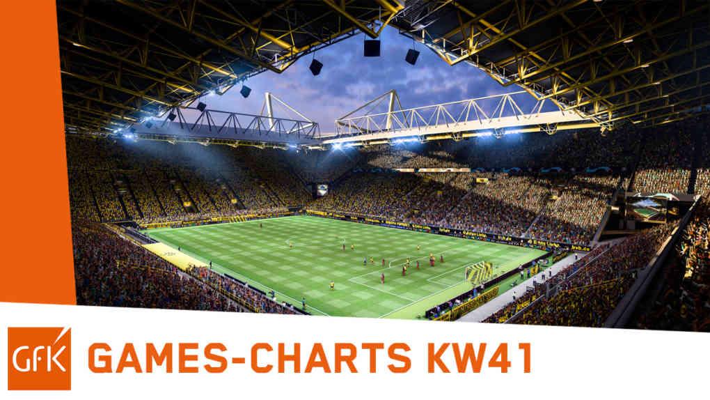 top 2 game charts deutschland kw41 2021 fifa22